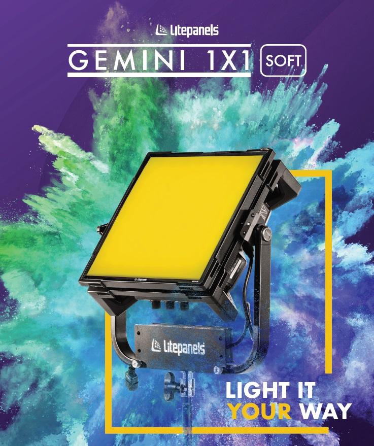 Новый осветительный прибор Litepanels Gemini 1x1 Soft